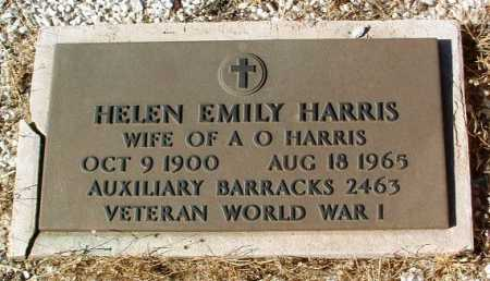 HARRIS, HELEN EMILY - Yavapai County, Arizona | HELEN EMILY HARRIS - Arizona Gravestone Photos