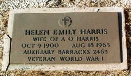 TOMLIN HARRIS, HELEN EMILY - Yavapai County, Arizona | HELEN EMILY TOMLIN HARRIS - Arizona Gravestone Photos