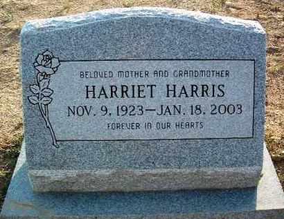 HARRIS, HARRIET - Yavapai County, Arizona | HARRIET HARRIS - Arizona Gravestone Photos