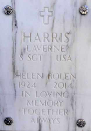 BOLEN HARRIS, HELEN R. - Yavapai County, Arizona | HELEN R. BOLEN HARRIS - Arizona Gravestone Photos