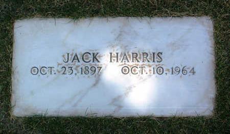 HARRIS, JACK - Yavapai County, Arizona   JACK HARRIS - Arizona Gravestone Photos
