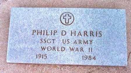HARRIS, PHILIP D. - Yavapai County, Arizona   PHILIP D. HARRIS - Arizona Gravestone Photos