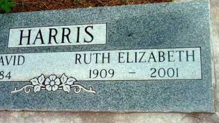 HARRIS, RUTH ELIZABETH - Yavapai County, Arizona   RUTH ELIZABETH HARRIS - Arizona Gravestone Photos