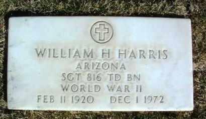 HARRIS, WILLIAM H. - Yavapai County, Arizona | WILLIAM H. HARRIS - Arizona Gravestone Photos