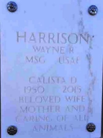HARRISON, CALISTA DELANA - Yavapai County, Arizona | CALISTA DELANA HARRISON - Arizona Gravestone Photos