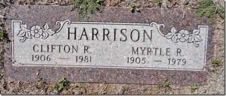 HARRISON, MYRTLE ROSE - Yavapai County, Arizona | MYRTLE ROSE HARRISON - Arizona Gravestone Photos