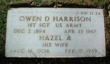HARRISON, HAZEL A. - Yavapai County, Arizona | HAZEL A. HARRISON - Arizona Gravestone Photos