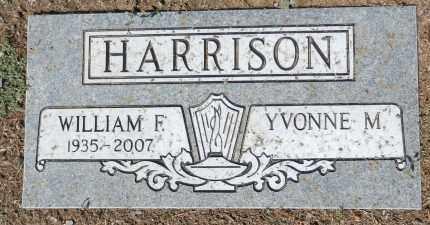 HARRISON, WILLIAM F. (BILL) - Yavapai County, Arizona | WILLIAM F. (BILL) HARRISON - Arizona Gravestone Photos