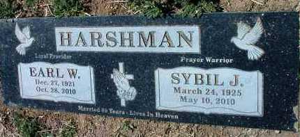 HARSHMAN, SYBIL JEWELL - Yavapai County, Arizona   SYBIL JEWELL HARSHMAN - Arizona Gravestone Photos