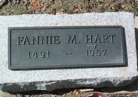 HART, FANNIE M. - Yavapai County, Arizona | FANNIE M. HART - Arizona Gravestone Photos