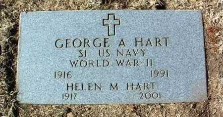 HART, GEORGE A. - Yavapai County, Arizona | GEORGE A. HART - Arizona Gravestone Photos