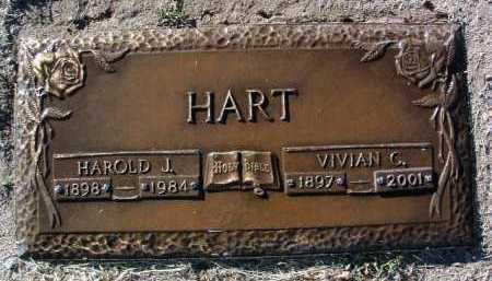 HART, VIVIAN C. - Yavapai County, Arizona   VIVIAN C. HART - Arizona Gravestone Photos