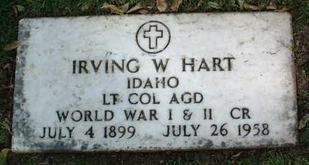 HART, IRVING WARREN - Yavapai County, Arizona | IRVING WARREN HART - Arizona Gravestone Photos