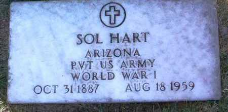 HART, SOLOMON (SOL) - Yavapai County, Arizona | SOLOMON (SOL) HART - Arizona Gravestone Photos