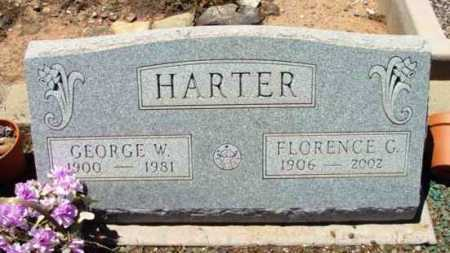 HARTER, GEORGE W. - Yavapai County, Arizona | GEORGE W. HARTER - Arizona Gravestone Photos