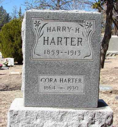 HARTER, HARRY H. - Yavapai County, Arizona   HARRY H. HARTER - Arizona Gravestone Photos