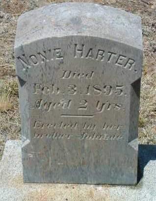HARTER, LENORA (NONIE) - Yavapai County, Arizona   LENORA (NONIE) HARTER - Arizona Gravestone Photos
