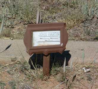 HARTIN, JOHN CARSON - Yavapai County, Arizona   JOHN CARSON HARTIN - Arizona Gravestone Photos