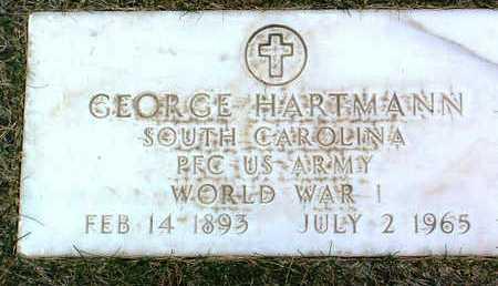 HARTMANN, GEORGE - Yavapai County, Arizona | GEORGE HARTMANN - Arizona Gravestone Photos