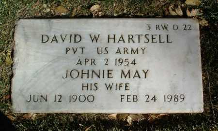HARTSELL, DAVID WALKER - Yavapai County, Arizona   DAVID WALKER HARTSELL - Arizona Gravestone Photos