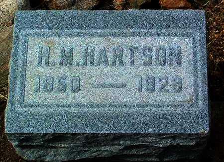 HARTSON, HARWOOD M. - Yavapai County, Arizona   HARWOOD M. HARTSON - Arizona Gravestone Photos
