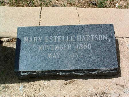 MAXSON HARTSON, MARY ESTELLE - Yavapai County, Arizona | MARY ESTELLE MAXSON HARTSON - Arizona Gravestone Photos