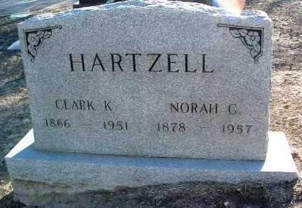 HARTZELL, NORAH - Yavapai County, Arizona | NORAH HARTZELL - Arizona Gravestone Photos