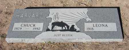 HARVARD, LEONA J. - Yavapai County, Arizona   LEONA J. HARVARD - Arizona Gravestone Photos