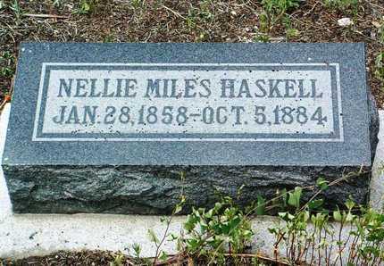 HASKELL, H. L.  (NELLIE) - Yavapai County, Arizona | H. L.  (NELLIE) HASKELL - Arizona Gravestone Photos
