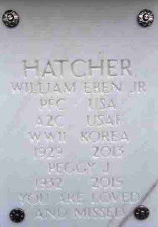 HATCHER, PEGGY JOYCE - Yavapai County, Arizona | PEGGY JOYCE HATCHER - Arizona Gravestone Photos