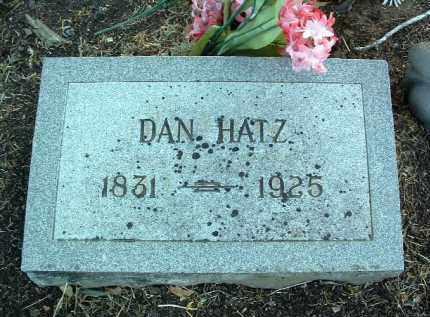 HATZ, DANIEL (DAN) - Yavapai County, Arizona | DANIEL (DAN) HATZ - Arizona Gravestone Photos