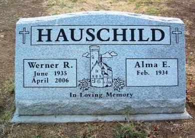 HAUSCHILD, WERNER R. - Yavapai County, Arizona | WERNER R. HAUSCHILD - Arizona Gravestone Photos
