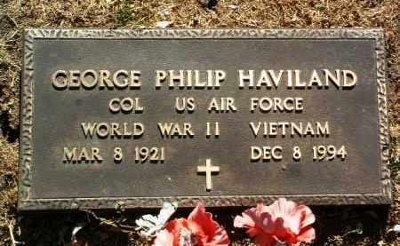 HAVILAND, GEORGE PHILIP - Yavapai County, Arizona | GEORGE PHILIP HAVILAND - Arizona Gravestone Photos