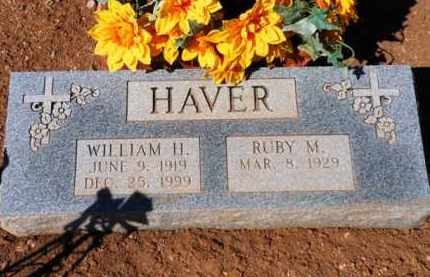HAVER, WILLIAM HEAVY - Yavapai County, Arizona   WILLIAM HEAVY HAVER - Arizona Gravestone Photos