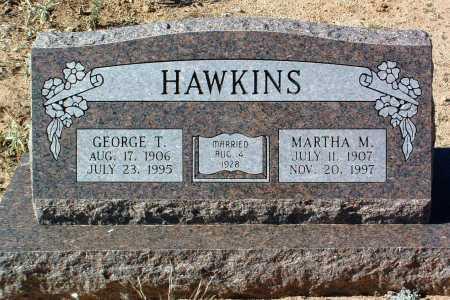 HAWKINS, MARTHA M. - Yavapai County, Arizona | MARTHA M. HAWKINS - Arizona Gravestone Photos