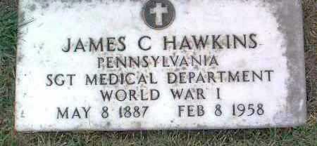 HAWKINS, JAMES C. - Yavapai County, Arizona | JAMES C. HAWKINS - Arizona Gravestone Photos