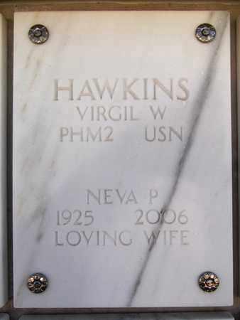 BUTLER HAWKINS, NEVA P. - Yavapai County, Arizona | NEVA P. BUTLER HAWKINS - Arizona Gravestone Photos