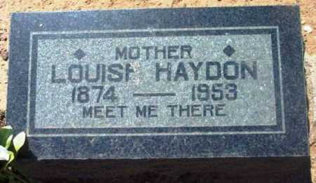 TURNER HAYDON, LOUISA - Yavapai County, Arizona | LOUISA TURNER HAYDON - Arizona Gravestone Photos