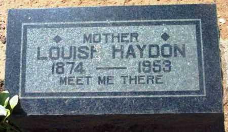 HAYDON, LOUISA - Yavapai County, Arizona | LOUISA HAYDON - Arizona Gravestone Photos