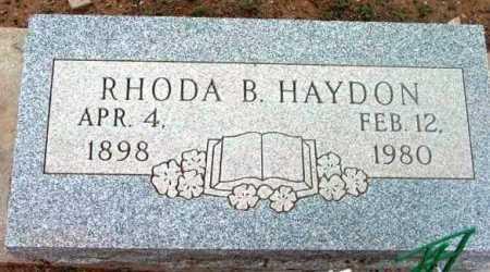HAYDON, RHODA BELZORA - Yavapai County, Arizona | RHODA BELZORA HAYDON - Arizona Gravestone Photos