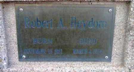HEYDORN, ROBERT AUGUST - Yavapai County, Arizona | ROBERT AUGUST HEYDORN - Arizona Gravestone Photos