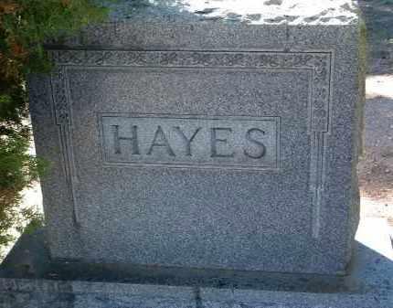 HAYES, FAMILY HEADSTONE - Yavapai County, Arizona | FAMILY HEADSTONE HAYES - Arizona Gravestone Photos