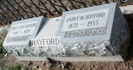 HAYFORD, HARRY M. - Yavapai County, Arizona | HARRY M. HAYFORD - Arizona Gravestone Photos