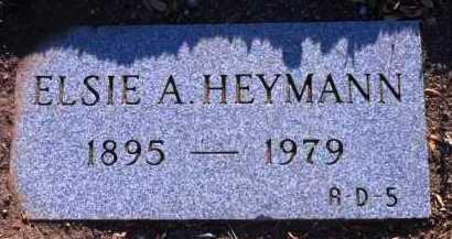 HEYMANN HOFFMAN, ELSIE A. - Yavapai County, Arizona | ELSIE A. HEYMANN HOFFMAN - Arizona Gravestone Photos