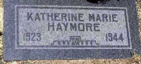 GILSON HAYMORE, KATHERINE - Yavapai County, Arizona | KATHERINE GILSON HAYMORE - Arizona Gravestone Photos