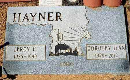 SCHULTZ HAYNER, DOROTHY - Yavapai County, Arizona | DOROTHY SCHULTZ HAYNER - Arizona Gravestone Photos