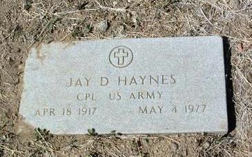 HAYNES, JAY D. - Yavapai County, Arizona | JAY D. HAYNES - Arizona Gravestone Photos