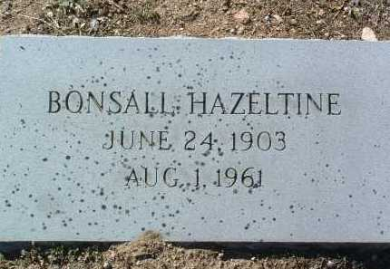 HAZELTINE, MOSES BONSALL - Yavapai County, Arizona | MOSES BONSALL HAZELTINE - Arizona Gravestone Photos