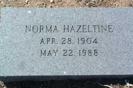 HAZELTINE, NORMA MARJORY - Yavapai County, Arizona | NORMA MARJORY HAZELTINE - Arizona Gravestone Photos