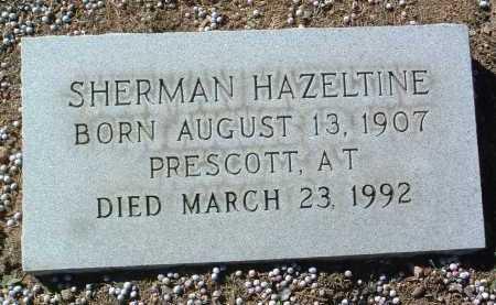HAZELTINE, SHERMAN - Yavapai County, Arizona   SHERMAN HAZELTINE - Arizona Gravestone Photos